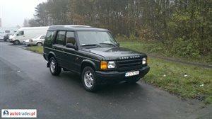 Land Rover Discovery 2.5 2000 r. - zobacz ofertę