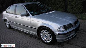 BMW 320 2.0 1999 r. - zobacz ofertę