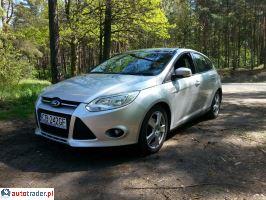 Ford Focus Salon Polska Serwis ASO 1.6 2014r. - zobacz ofertę