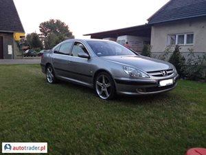 Peugeot 607 2.2 2001 r. - zobacz ofertę
