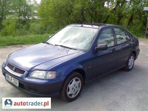 Honda Civic 1.4 1996 r.,   4 200 PLN