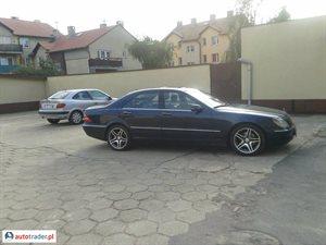 Mercedes S-klasa S 320 3.2 1999 r.,   19 000 PLN
