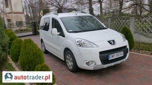 Peugeot Partner 1.6 2012 r.,   43 000 PLN