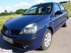 Renault Thalia 1.4 2003 r. - zobacz ofertę