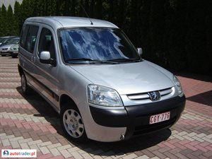 Peugeot Partner 1.9 2004 r. - zobacz ofertę