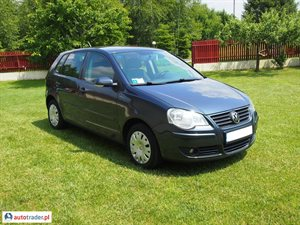 Volkswagen Polo 1.4 2005 r.,   15 800 PLN
