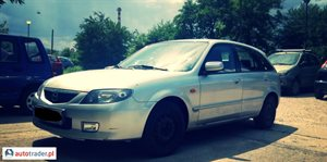 Mazda 323F 1.6 2002 r. - zobacz ofertę