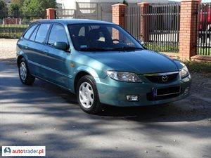 Mazda 323F 2.0 2001 r. - zobacz ofertę