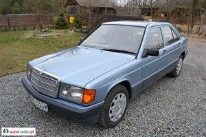 Mercedes W-201 (190) 2.5 1988 r. - zobacz ofertę