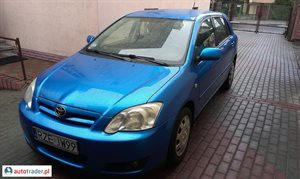 Toyota Corolla 1.4 2006 r.,   23 900 PLN