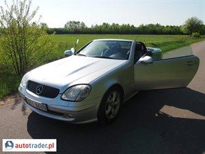 Mercedes SLK 2003 2.3 197 KM