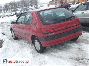 Peugeot 306 W CAŁOŚCI BADZ NA CZĘŚCI 1.4 1994 r. - zobacz ofertę
