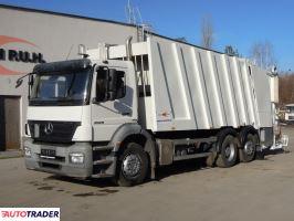 Mercedes Axor 2529 śmieciarka FAUN POWERPRESS 524 24m3 - zobacz ofertę