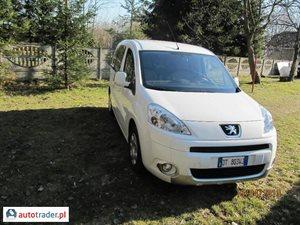 Peugeot Partner 1.6 2009 r.,   27 900 PLN