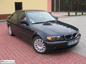 BMW 320 2.0 2001 r. - zobacz ofertę