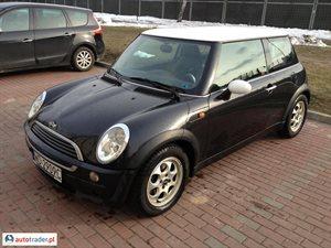 Mini ONE 1.6 2002 r. - zobacz ofertę