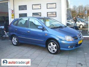 Nissan Almera Tino 1.8 2001 r. - zobacz ofertę