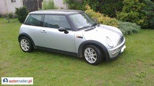 Mini Cooper 2002 1.6 115 KM