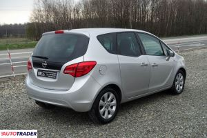 Opel Meriva 2010 1.7 110 KM