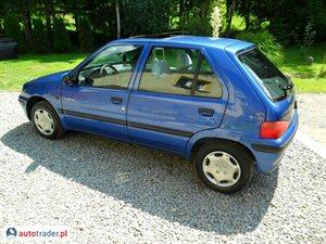 Peugeot 106 1.0 1997 r. - zobacz ofertę