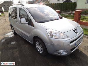 Peugeot Partner 1.6 2011 r.,   28 900 PLN