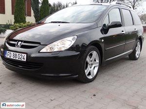 Peugeot 307 2.0 2005 r. - zobacz ofertę