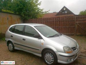 Nissan Almera Tino 2.2 2001 r. - zobacz ofertę