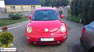 Volkswagen New Beetle 2.0 2000 r. - zobacz ofertę