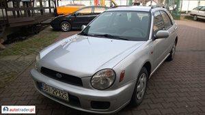 Subaru Impreza 1.6 2001 r. - zobacz ofertę