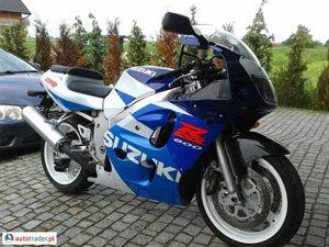 Suzuki GSX-R 600 1998 r.,   6 900 PLN