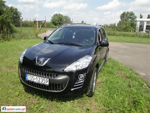 Peugeot 4007 2010 2.2 156 KM