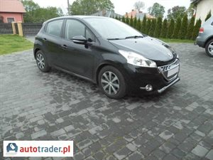 Peugeot 208 1.4 2012 r. - zobacz ofertę
