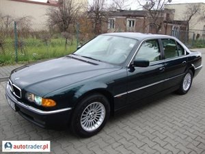 BMW 740 4.4 1999 r. - zobacz ofertę
