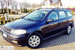 Opel Astra, 1998r.,   6 300 PLN