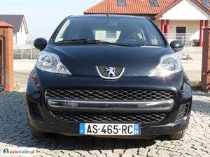 Peugeot 107 1.0 2010 r. - zobacz ofertę