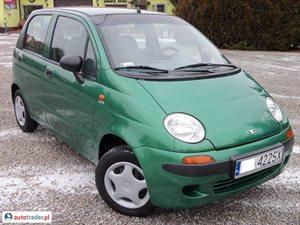 Daewoo Matiz, 2000r. - zobacz ofertę
