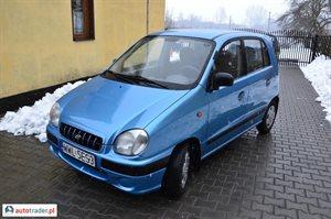 Hyundai Atos 1.0 2000 r. - zobacz ofertę