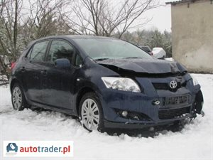 Toyota Auris 1.6 2008 r.,   15 800 PLN