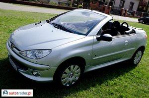 Peugeot 206 1.6 2003 r. - zobacz ofertę