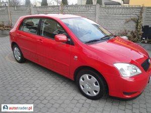 Toyota Corolla 1.4 2003 r. - zobacz ofertę
