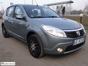 Dacia Sandero 1.4 2009 r. - zobacz ofertę