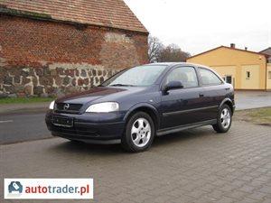 Opel Astra 1.6 1999 r.,   5 400 PLN