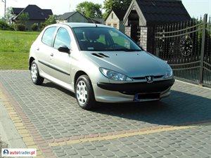 Peugeot 206 1.4 2006 r. - zobacz ofertę