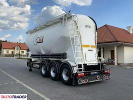 Kässbohrer SSL 35m Cemento naczepa przewóz mat. sypkich - zobacz ofertę