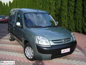 Peugeot Partner 1.4 2006 r. - zobacz ofertę