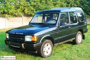 Land Rover Discovery 2.5 1997 r. - zobacz ofertę