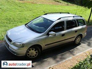 Opel Astra 1.4 1999 r.,   5 950 PLN