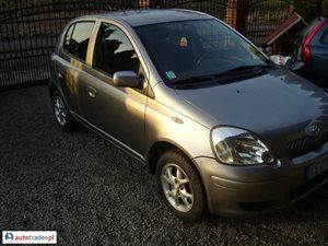 Toyota Yaris 1.0 2003 r. - zobacz ofertę