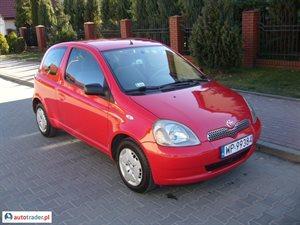 Toyota Yaris 1.0 2000 r. - zobacz ofertę