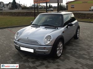 Mini Cooper 1.6 2004 r.,   19 500 PLN